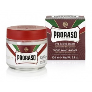 proras_red_pre_post shave cream Sandalwood