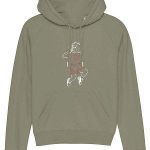 bulls light khaki trigger hoodie proof